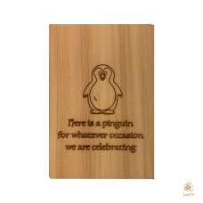 """""""Here is a pinguin for whatever occasion"""""""