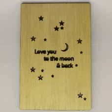"""""""Love you to the moon and back"""""""