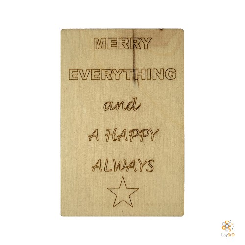 """""""Merry Everything And A Happy Always"""""""