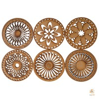 Mandala: Set of 6 coasters