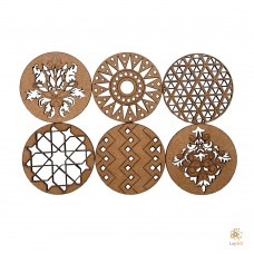 Egypt: Set of 6 coasters