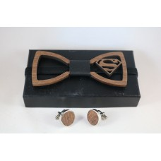 Bow tie with Superman
