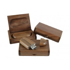 Wooden USB-stick Black Walnut 4GB