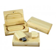 Wooden USB-stick Bamboo 4GB