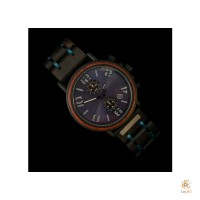 Luxury Dark Walnut 2021 (Blauw) Watch